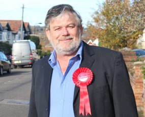 Tony Bunday Labour and Coop PCC candidate